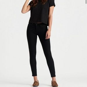 Lucky Brand Lolita Skinny Ankle Jeans Black Wash